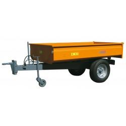 Remorque à bennage hydraulique monocoque RMTB1425M