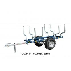 Châssis porteur pour Quad 700 kg SIMPLE ESSIEU