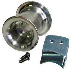 Tambour cabestan 57 mm (2-1/4'') avec guide corde et 2 boulons