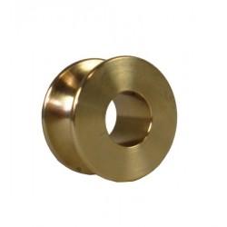 Poulie guide en bronze 38 mm (1-1/2'') de diamètre