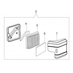 L66150250 Kit filtre air