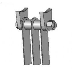 Supplément pour montage pour jeu de couteaux scarificateur - KRBPLS
