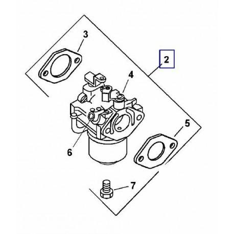 K6385310 - CARBURATEUR POUR MOTEUR CS8T / PIECE DETACHEE D'ORIGINE KOHLER